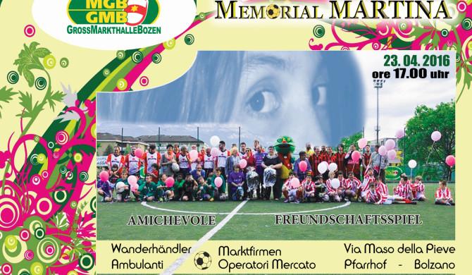 Memorial Martina 2016