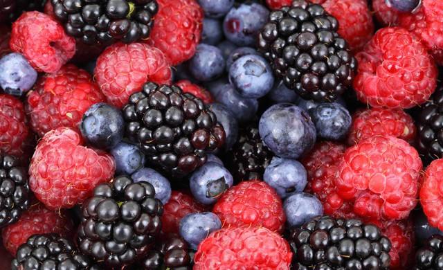 Mousse ai frutti di bosco