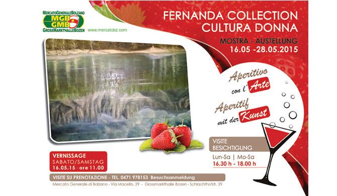 FERNANDA COLLECTION CULTURA DONNA DAL 16 AL 28 MAGGIO 2015
