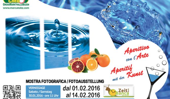 """Aperitif mit der Kunst - """"Wasser"""""""